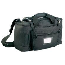 Bolsa de viaje acolchada de nylon superior con bolsillo para auriculares
