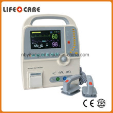 Factory Cheapest Portable Handled Ambulance Emergency Monophasic Defibrillator