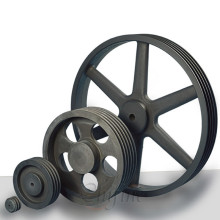 Custom Casting Belt Pulley with Ductile Iron