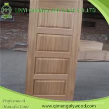 Espesa la piel de puerta moldeada de 4,2 mm HDF con un precio más barato