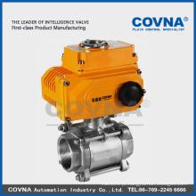 A água fechou a válvula elétrica 2-way para HVAC, sistema de compressão de ar