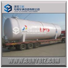 100m3 LPG tanque de almacenamiento tanque de GLP ASME tanque de propano