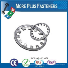 Made in Taiwan Internal Tooth Lock Washer Zinc Finish Internal Tooth Lock Washer Stainless Steel Internal Tooth Lock Washer
