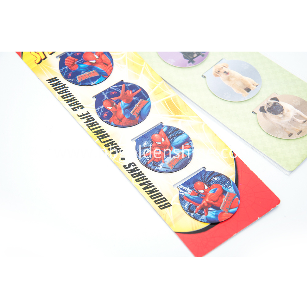 Spiderman Foldable Book Mark
