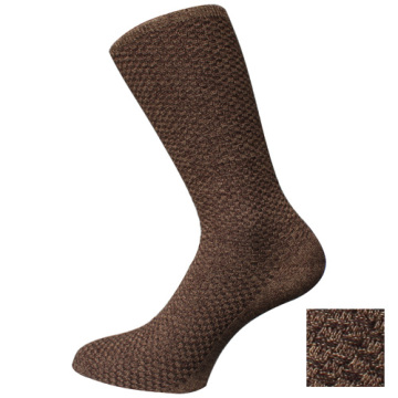 Brown Mens Double Cylinder Socks
