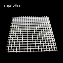 Plastic Decorative Return Egg Crate Ceiling Air Grille