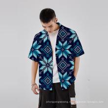 Ткань для цифровой печати с цветочным принтом, тканая одежда