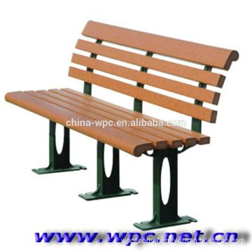 preservative water proof outdoor composite WPC garden bench