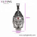 33480 xuping spécial design personnalisé mode pistolet noir couleur Bouddha Chinois pendentif