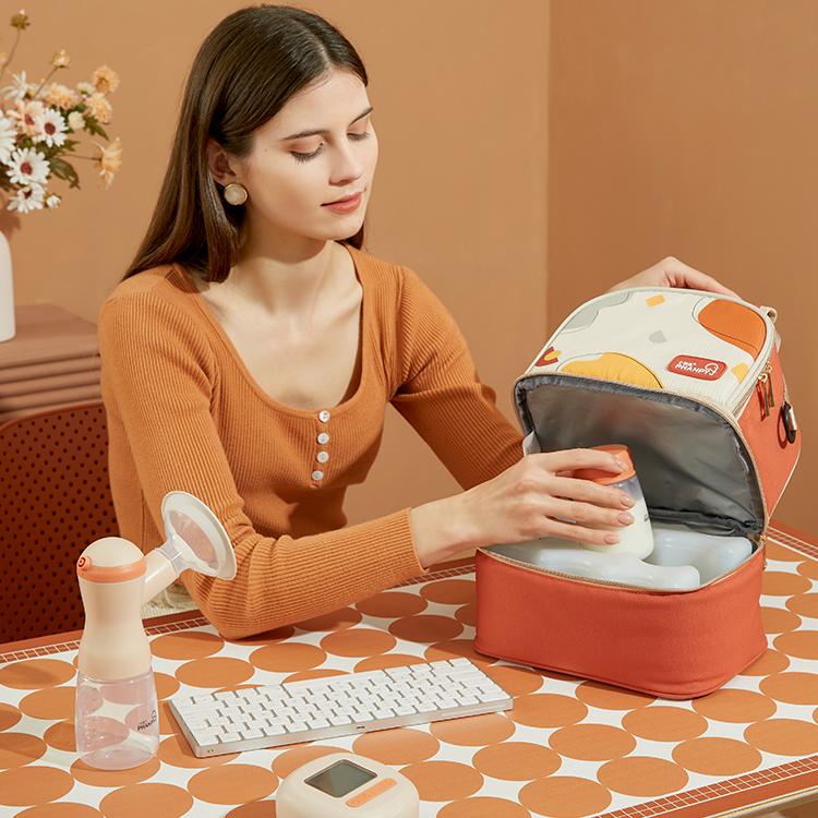 breast milk cooling bag