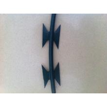 Razor Wire (PVC green)
