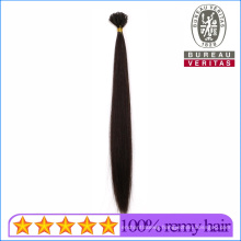 Remy Virgin Hair Black Color Straight Style 18inch U Tip Human Hair Extension