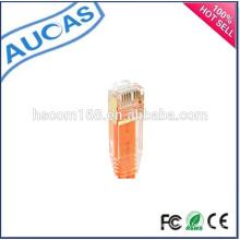 China Factory Meilleur prix câble de raccordement plat / câble de câble systimax / câble de réseau / cat5e cat6 cat7 utp ftp patch cable