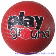 5′′, 6′′, 7′′, 8.5′′, 10′′ High Quality Rubber Playground Ball /Kickball