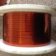 Dawai tembaga segi empat tepat enamelled Thickness1.10-1,30 mm
