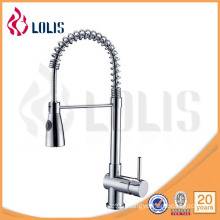 modern waterfall chrome brass pullout kitchen faucet (Y-1008)