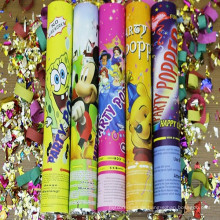 Hersteller Colorful Christmas Cracker mit Konfetti für Party Supply