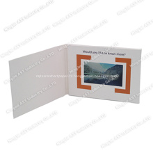 Brochure vidéo, module de brochure vidéo, carte de publicité vidéo