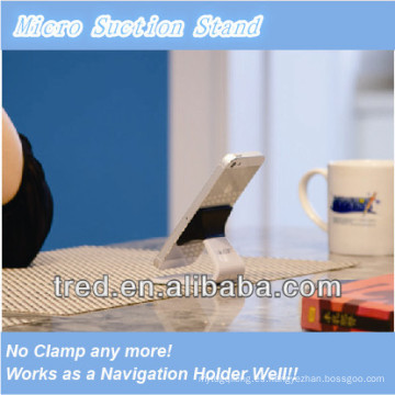 Último soporte del teléfono celular de la succión micro / soporte del teléfono móvil