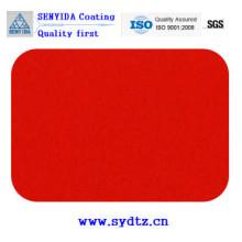 Порошковое покрытие краски матовое Красный