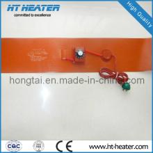 Calentador de caucho de silicona para tubería de drenaje
