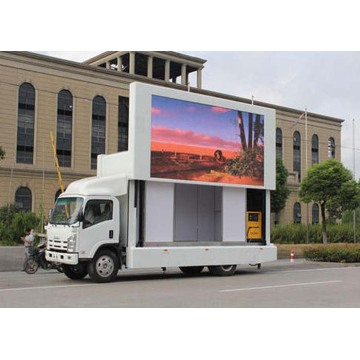 Utomhus High Definition Mobile Truck LED Display