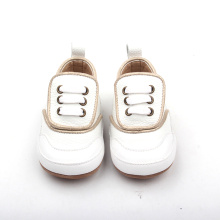Handgjorda Factory Baby Kids White Oxford Casual Shoes