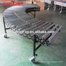 telescopic conveyor for truck loading nh400b