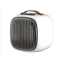 Desktop handy mini PTC heater  electric portable easy home quiet fan heater