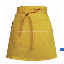 Promotional Ladies Cotton Short Waist Apron