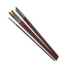 High End 5PCS /Set Nylon Hair and Wooden Handle Watercolor Paint Brushes For Artist