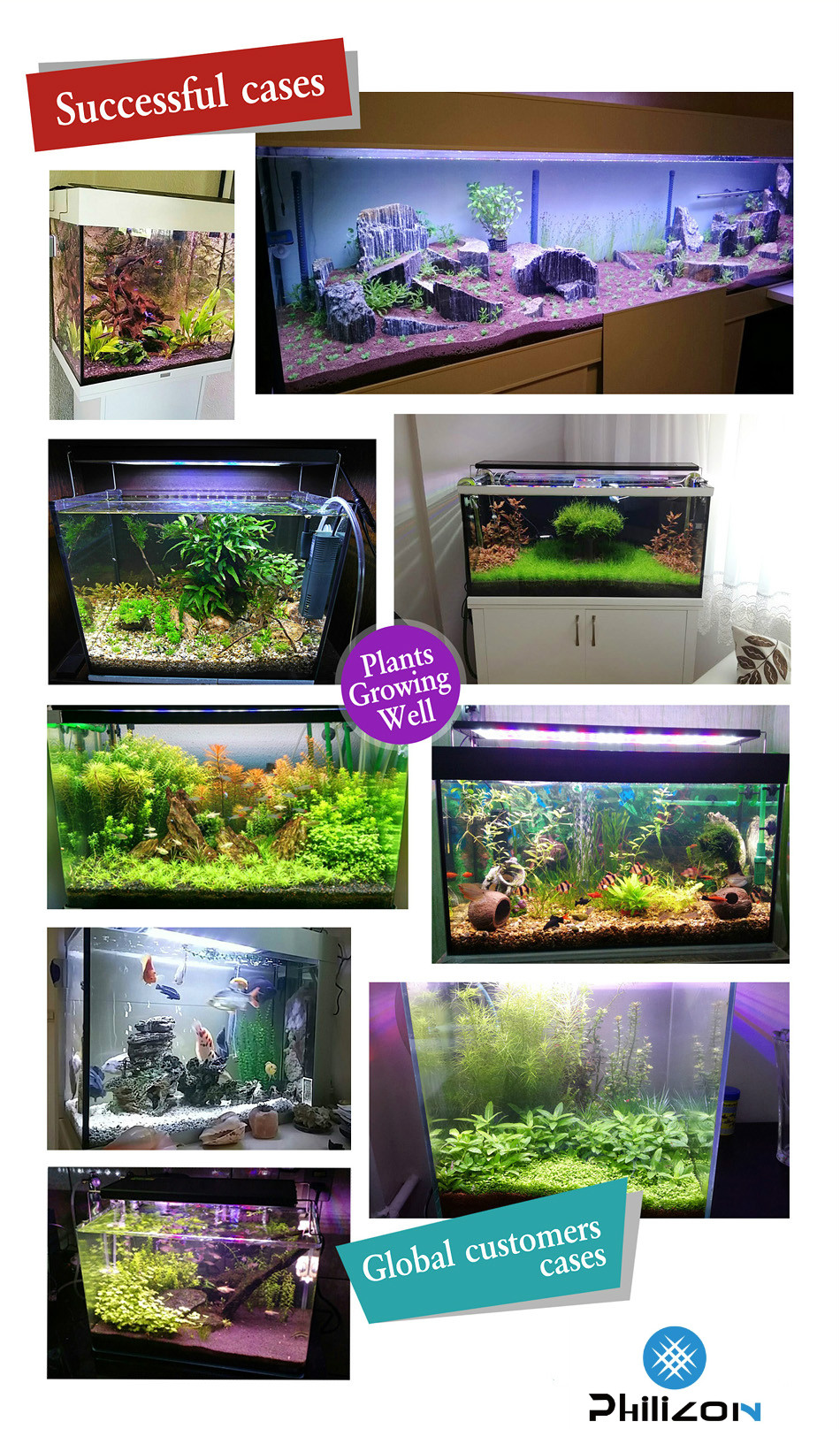 High Power LED Aquarium Light