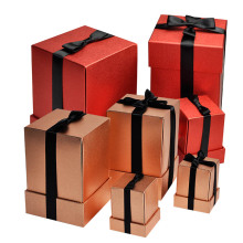 Chirsmas gift packaging set caixas de papel