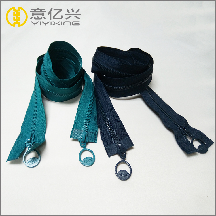 plastic resin mould zipper