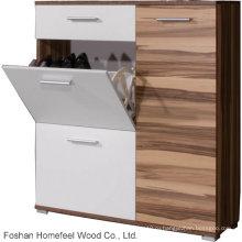 Деревянный обувной шкаф для домашней мебели (HF-EY08146)