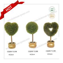 10-18cm Plastic Real Touch Flowers pour décoration intérieure