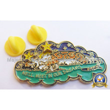Zinc Die Cast Plating Soft Enamel Lapel Pin (MJ-PIN-085)