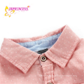 wholesales young boy t-shirts cotton coat for kids pink jacket children