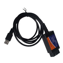 ELM327 OBD2 Elm327 USB OBD2 диагностический инструмент для интерфейса Elm327 V1.5 (CH340) Windows поддерживает все протоколы Obdii