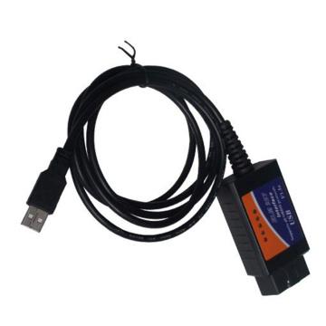ELM327 OBD2 Elm327 USB herramienta de diagnóstico OBD2 para Windows V1.5 (CH340) interfaz Elm327 soporta todos los protocolos Obdii