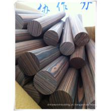 vigas de madeira projetadas