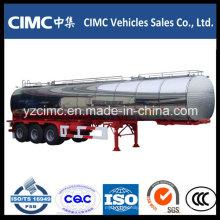 Cimc 40m3 3 Ejes Depósito De Combustible Tráiler