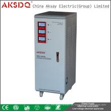 Servidor de motor de fase única TND 30KVA ativo Estabilizador de tensão do fornecedor de energia CA com LED Display LCD