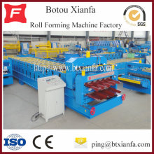 Colored Steel Galvanized Roof Wall Tile Roll Forming Machine
