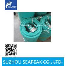 Manguera de PVC de alta presión Layflat para riego y drenaje de tierras de cultivo