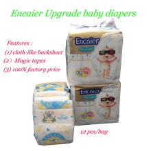 Encaier Upgrade Popular Mercado de África Pañales de Bebé Pañales