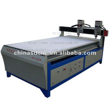JK-1224-2 MDF Wood cnc router with double spindles