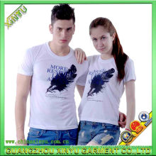 2016 White Fashion Men and Women Wholesale T Shirt