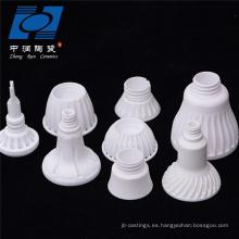 Base de lámpara de cerámica de alúmina de la industria de resistencia al desgaste