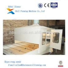 perfil de telha de telhadura de aço revestido de zinco pedra fazendo máquinas xinnuo rolo dá forma à máquina